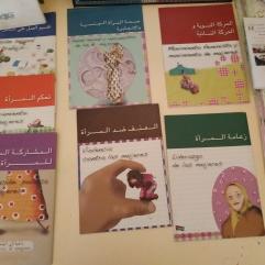 Ouvrages sur le féminisme et les femmes sahraouies