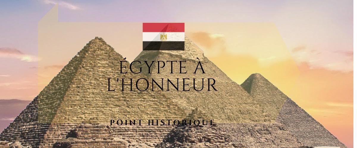 Point historique : l'Égypte